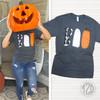 Boo Halloween Doodle T-Shirt