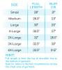 Sassy Stack of Pumpkins T2D Sweatshirt  size chart