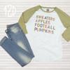 Sweaters, Apples, Football, and Pumpkins Raglan Flat