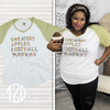 Sweaters, Apples, Football, and Pumpkins V-Neck Product Image