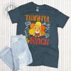 Thankful to Teach Fall Teacher T-Shirt Flat
