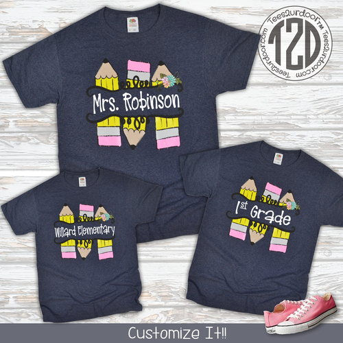 2f104f7f Custom School Spirit Shirts & Teacher Tees | Tees2UrDoor