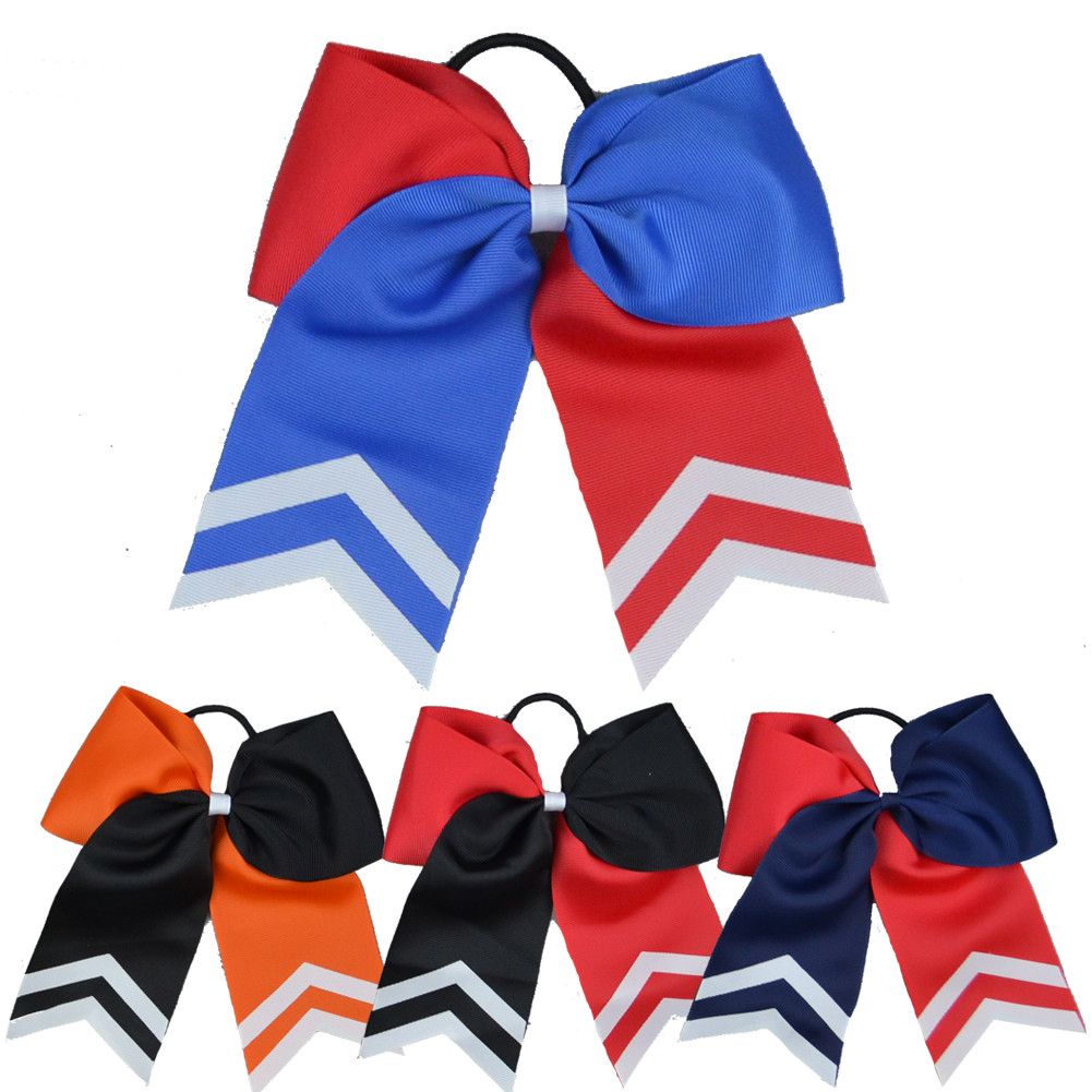 Two Color Varsity Cheer Bow