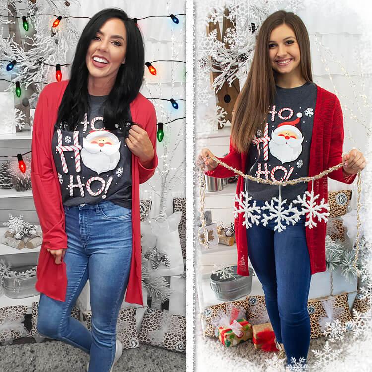 HO HO HO Christmas Santa Lifestyle