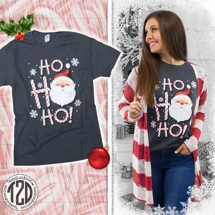 HO HO HO Christmas Santa Product Image