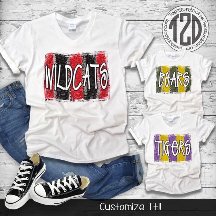 Lifestyletroke Custom T-Shirt Flat Image