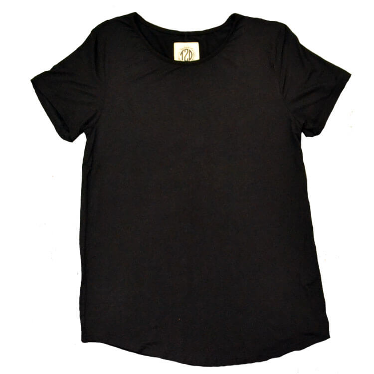 Relaxed Basic Scoop Neck Top Product Image