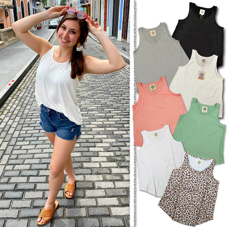 Relaxed Basic Tank Top Product Image