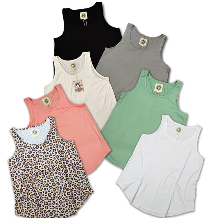 Relaxed Basic Tank Top Product Image 2