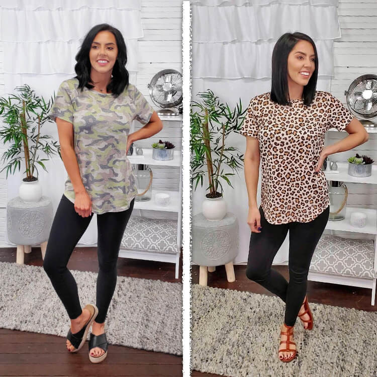 Patterned Relaxed Basic Lifestyle 3