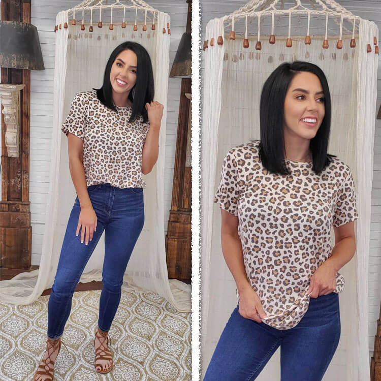 Patterned Relaxed Basic Lifestyle 4