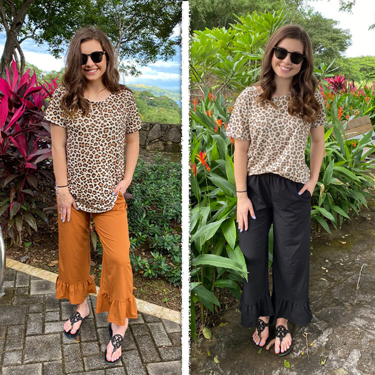 Patterned Relaxed Basic Lifestyle 2