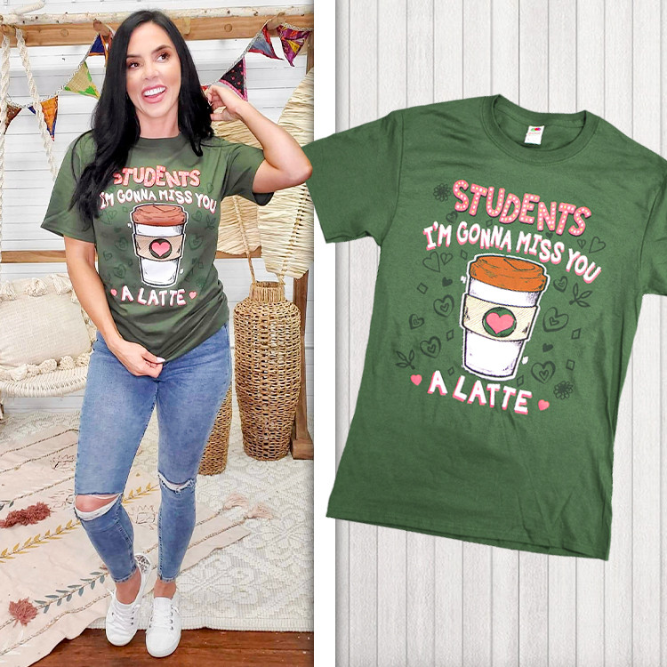 Student's I'm Gonna Miss You A Latte Product Image