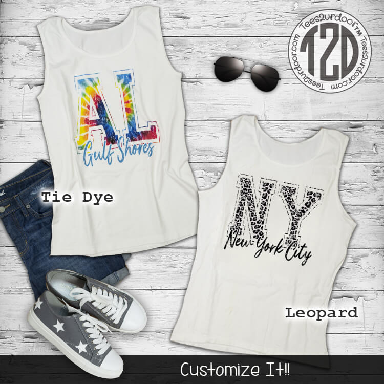 City Vibes Tank Top Flat
