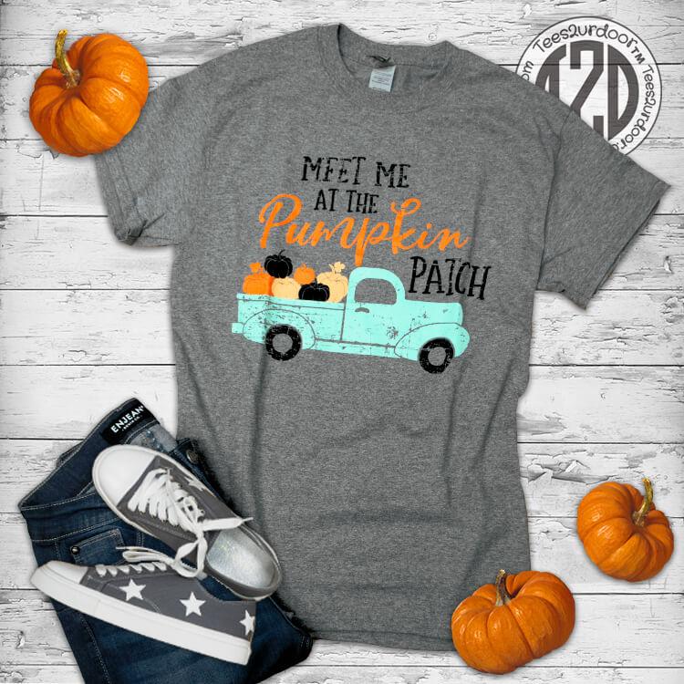 Meet Me at the Pumpkin Patch Flat