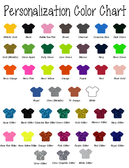 Personalization Colors