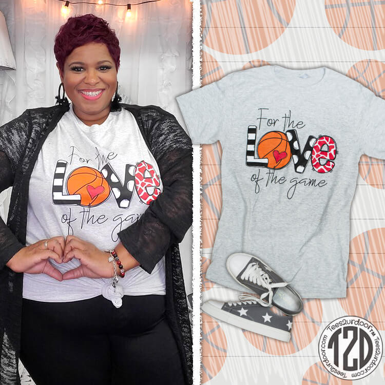For the Love of the Game Basketball Product Image
