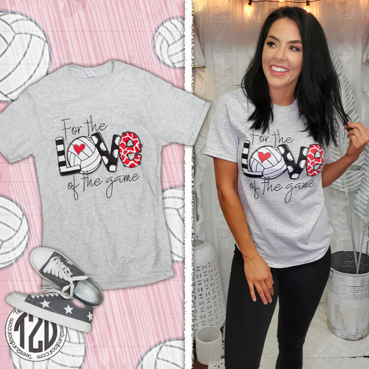 For the Love of the Game Volleyball Product Image