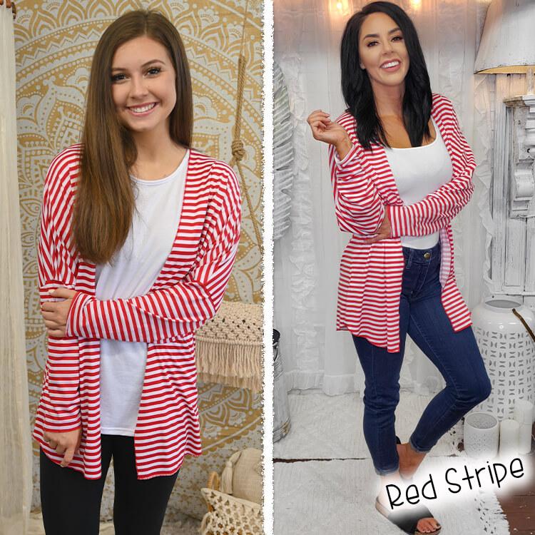 Red Stripe Lola Girl