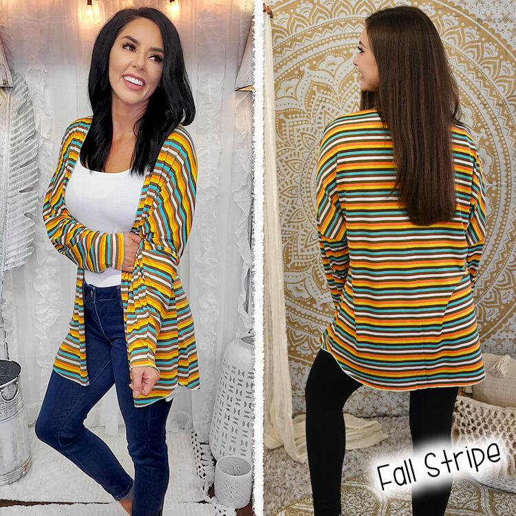 Fall Stripe Lola Girl