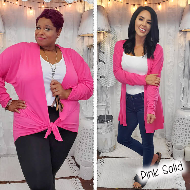 Pink Solid Lola Girl