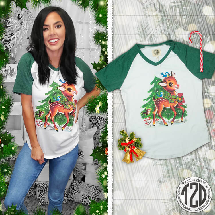 Rudolph Nose So Bright V-Neck Product Image