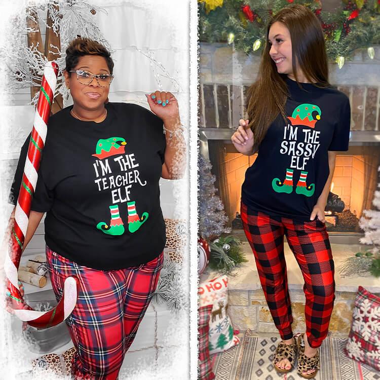 I'm the Custom Your Elf T-Shirt Lifestyle