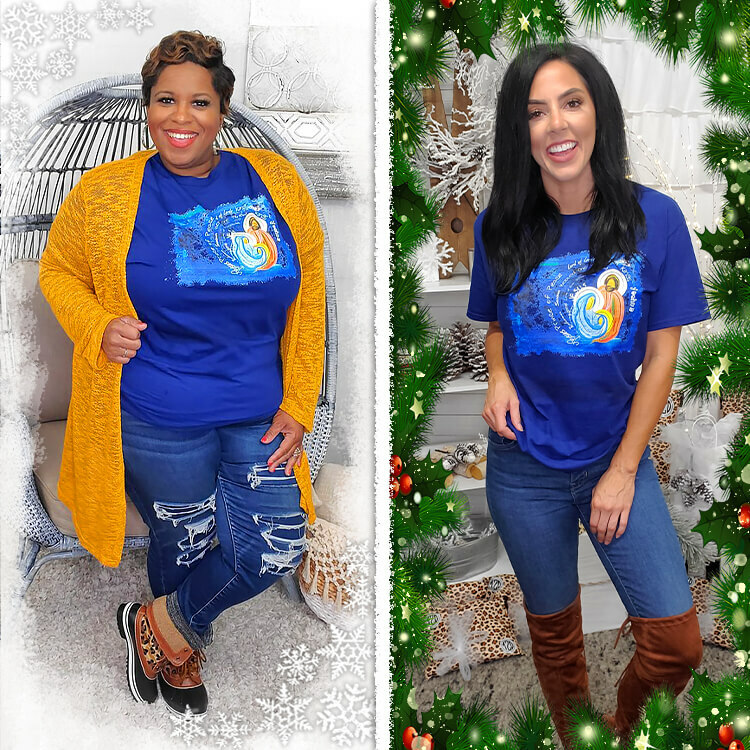 Price of Peace Christmas T-Shirt Lifestyle