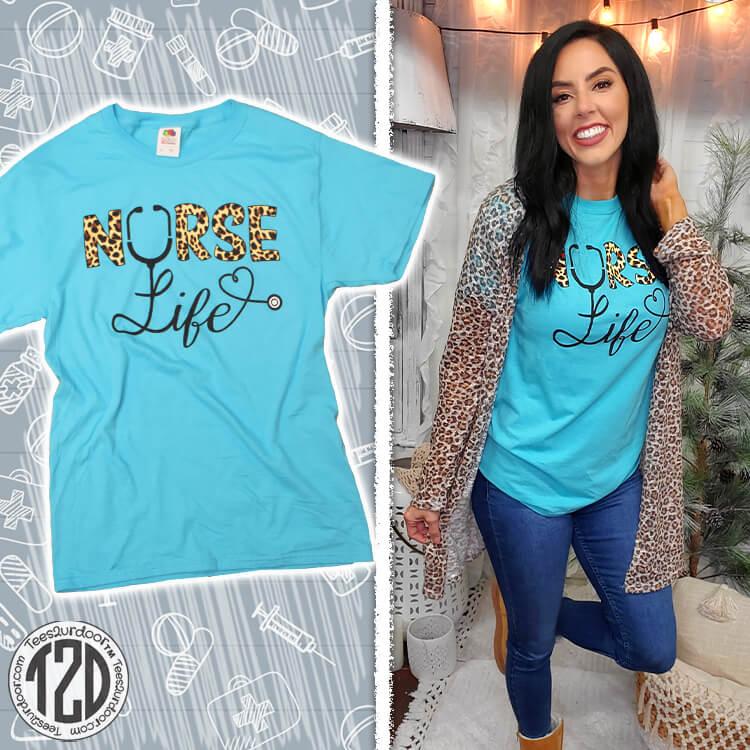 Nurse Life T-Shirt Product Image