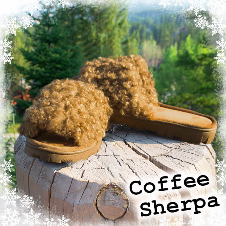 Coffee Sherpa Slippers