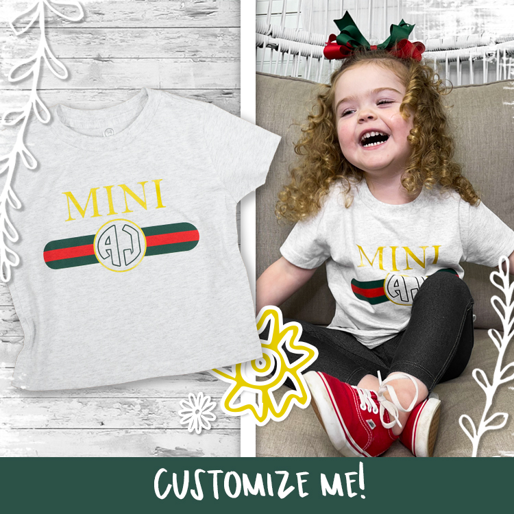 Gucci Inspired Mini T-Shirt Product Image