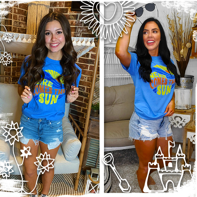 Here Comes the Sun T-Shirt Lifestyle