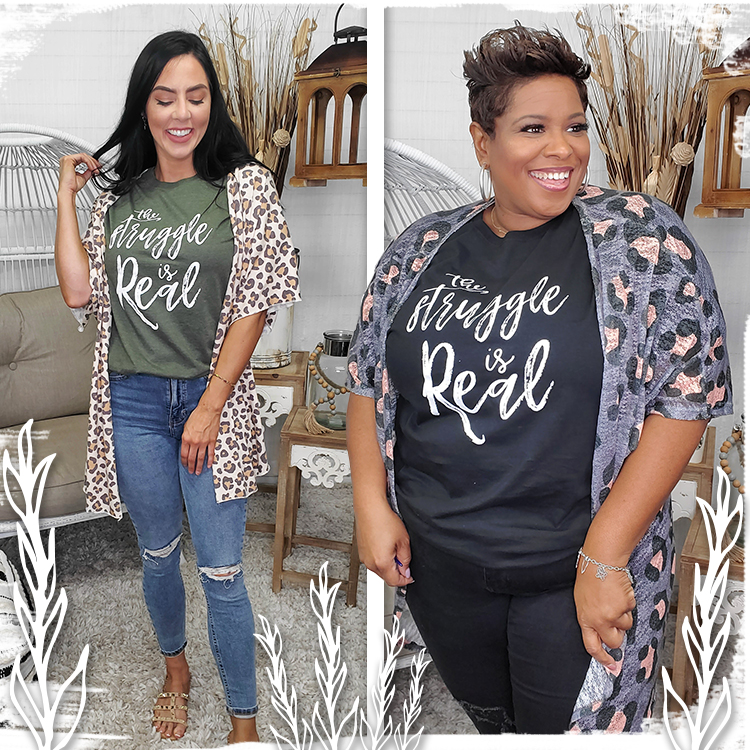 The Struggle is Real T-Shirt lifestyle