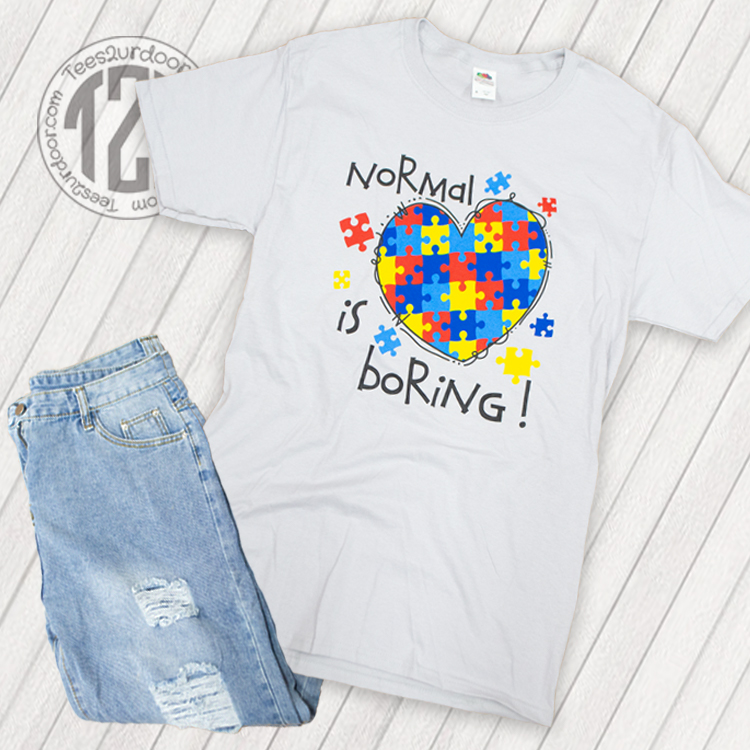 Normal is Boring Flat