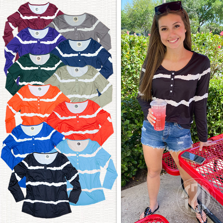 All Color Henley Product Image