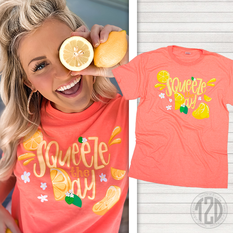 Squeeze the Day Graphic T-Shirt Product Image