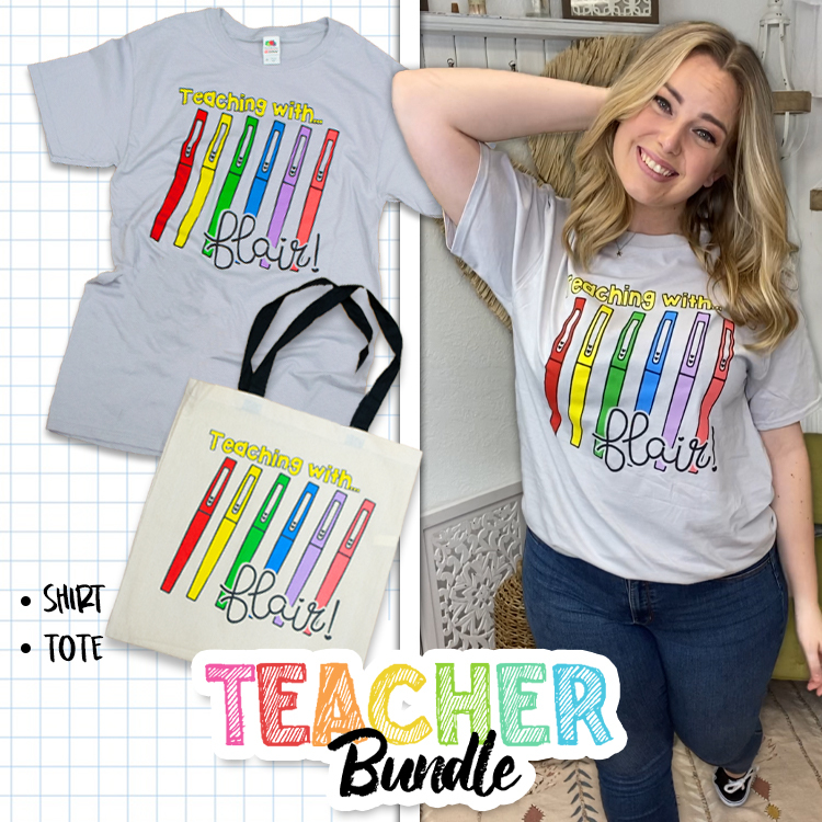 Teaching with Flair Teacher Appreciation Bundle Product