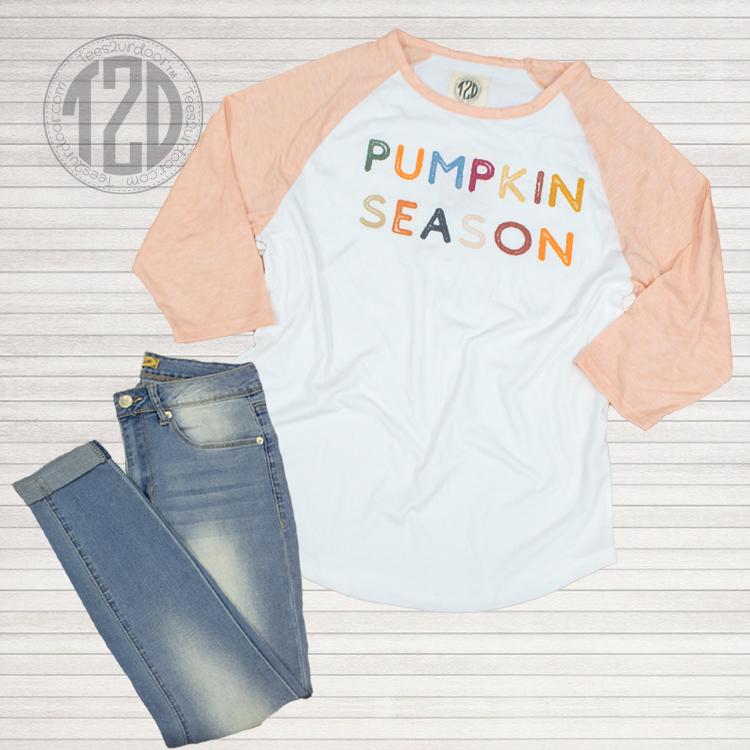 Pumpkin Season Raglan