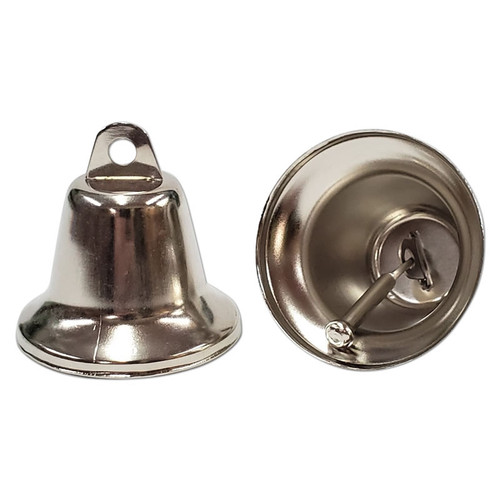 48mm Nickel Plated Liberty Bell -
