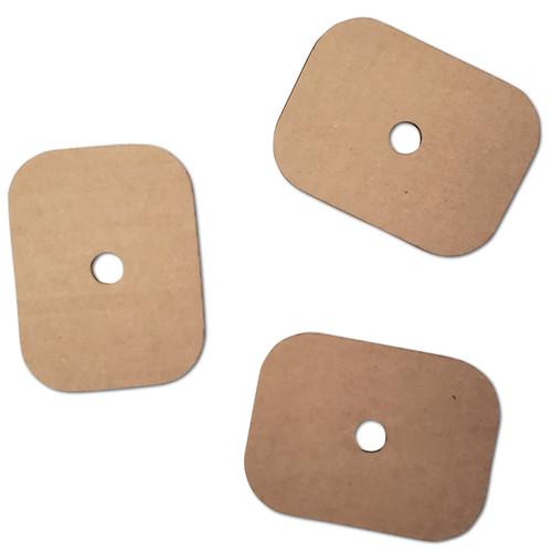 "Large Cardboard Slice 3"" x 4"" -"