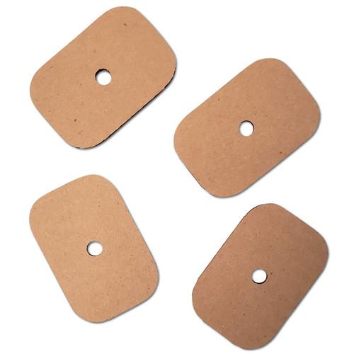 """Medium Cardboard Slice 2"""" x 3"""" -"""