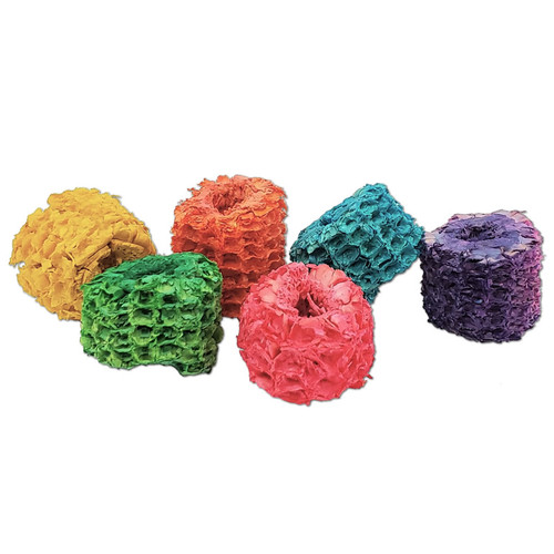 Colored Corn Cob Slices -
