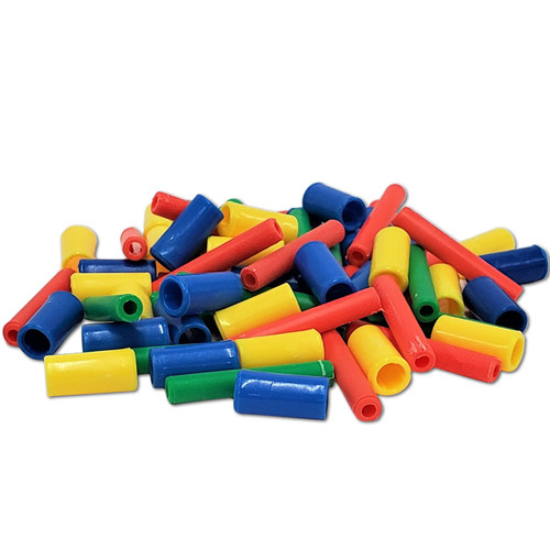 Assorted Plastic Tubes 1/2 lb -