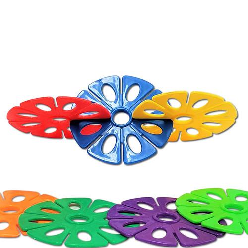 Large Plastic Flower Wheel -