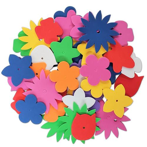 1/2lb Foam Flower Forms -