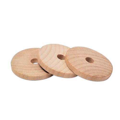 "2"" Natural Wood Disc -"