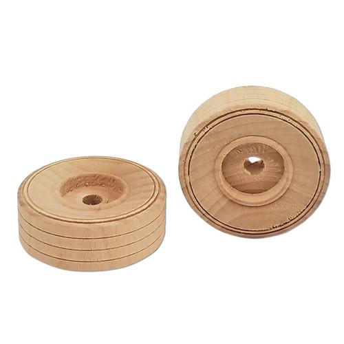 "1-3/4"" Wood Tire -"