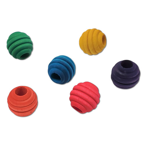 "3/4"" Color Beehive Bead -"