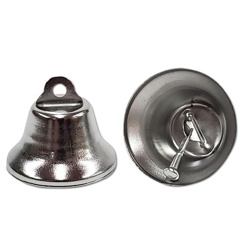 30mm Nickel Plated Liberty Bell