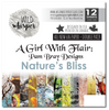 Pam Bray Nature's Bliss 6x6 inch DOUBLE Paper Pack WWNB04